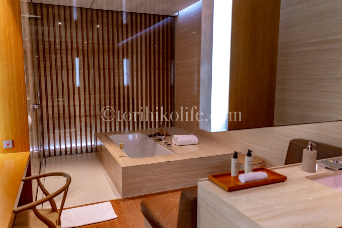 カバナのバスルーム全景