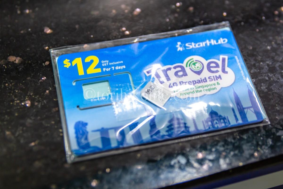 12ドルのトラベルSIMカード