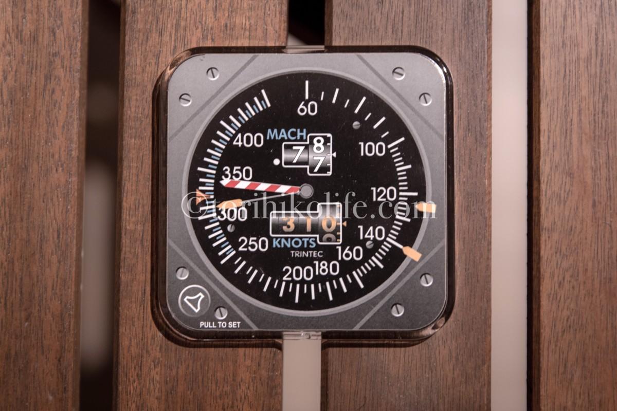 速度計のコースター