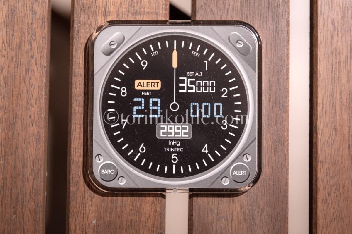 高度計のコースター