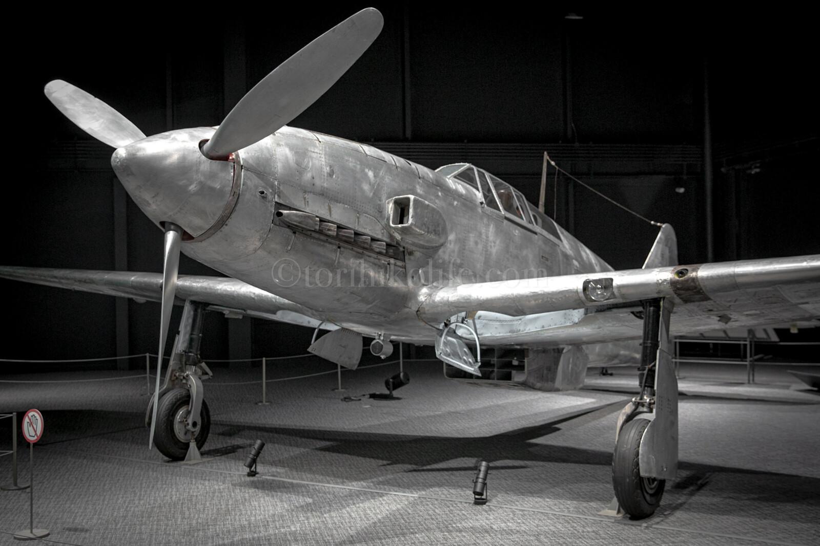 世界で唯一現存する旧陸軍三式戦闘機「飛燕(ひえん)」