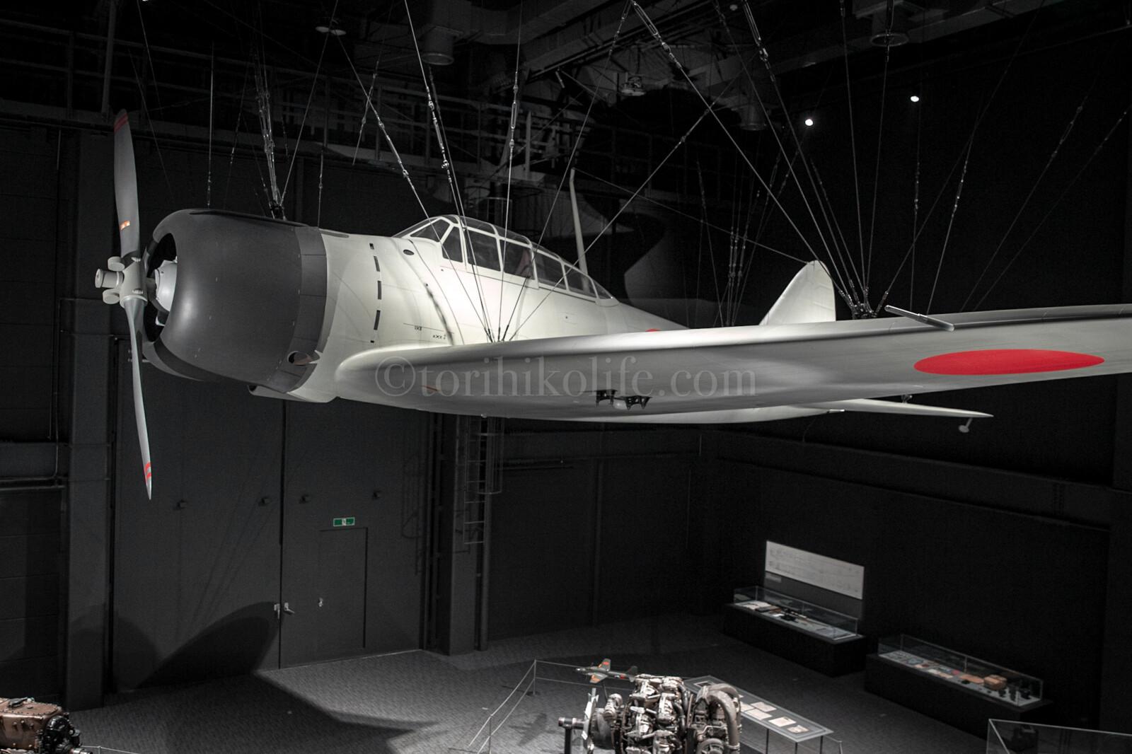 零戦試作機「十二試艦上戦闘機(復元機)」